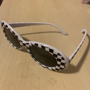 Accessories - Checkered Clout Sunglasses